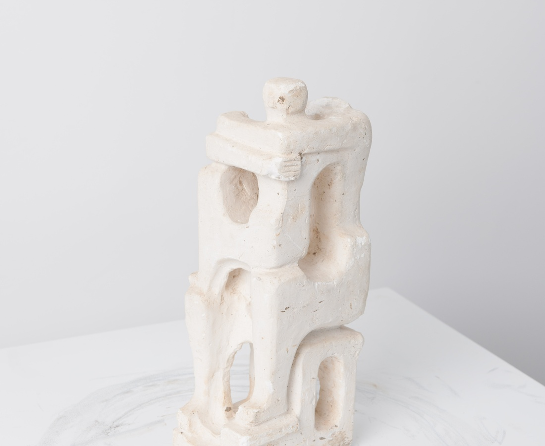 <p><strong>Estate of Alfred Basbous</strong>, Family Maquette, 1980-85</p>