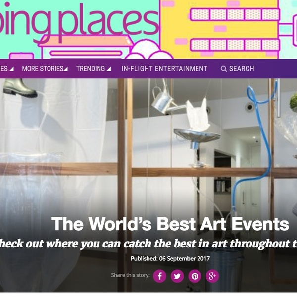 Going Places Magazine - The World's Best Art Events