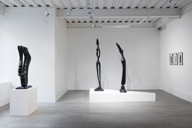 <p>Installation view, Alfred Basbous 'Modernist Pioneer - Selected Works'</p>